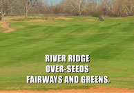 River Ridge Golf Club Mother Nature Ad