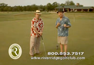 River Ridge Golf Club Bad Jokes Ad