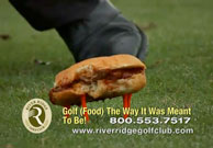 River Ridge Serious Sandwiches Ad