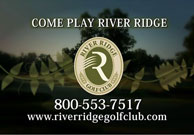 River Ridge Golf Club Testimonials Ad