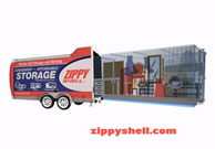 Zippy Shell Storage Ad